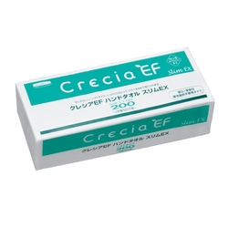 CRECIA EF Hand Towel Soft Type 200 Slim EX