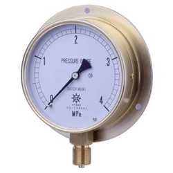 HNT General Purpose Pressure Gauge, Earthquake-Resistant Type, Rounded Edge Type (B)