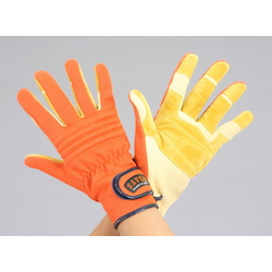 Rescue Leather Gloves EA353BK-67