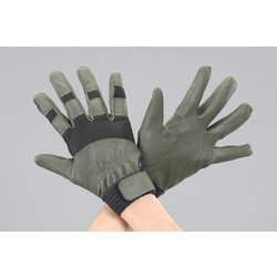 Leather Gloves (Synthetic Leather) EA353J-88