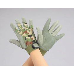 [Camouflage] Leather Gloves (Pig Skin) EA353JC-0.5