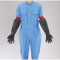 Long Size Natural Rubber Thick Gloves EA354BF-23A