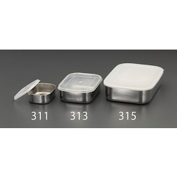 [Stainless Steel] Shallow Box (With Lid) EA508SB-313