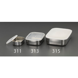 [Stainless Steel] Shallow Box (With Lid) EA508SB-314