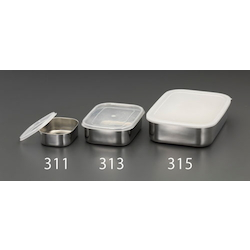 [Stainless Steel] Shallow Box (With Lid) EA508SB-315