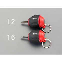 (+) Stubby Screwdriver With Ring EA557AY-12