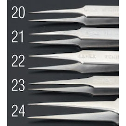 [Stainless Steel] Precision Tweezers EA595AK-23