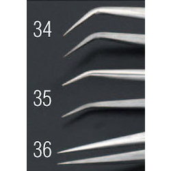 [Stainless Steel] Precision Tweezers EA595AK-34