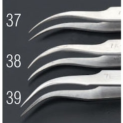 [Stainless Steel] Precision Tweezers EA595AK-37