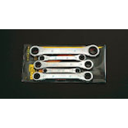 Ratchet Ring Wrench Set (Inc. 5pcs) EA602K