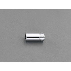 "3/8""sq x 19mm Semi Deep Socket(12P) EA618PP-19"