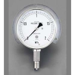 [All Stainless Steel] Pressure Gauge With Flange EA729DM-20