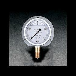 [Glycerin Filled] Vibration-Resistant Pressure Gauge With Flange EA729GC-20