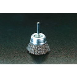 Cup Type Stainless Steel Brush with Shaft (6mm Shaft) EA819BR-13