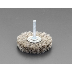 Wire Brush with Flat Shaft (6mm Shaft) EA819BS-6
