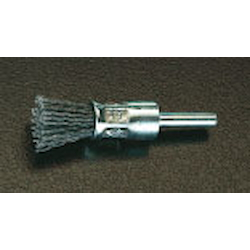 End Type Nylon Brush with Shaft [with Abrasive Grain] (6mm Shaft) EA819BX-21