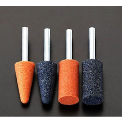 Grinding Stone Set with Shaft (6mm Shaft) (4 Pcs) EA819WB