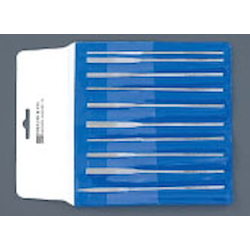Taper Diamond File Set With Round Handle (10 Pcs) EA826VG-2
