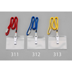 Nameplate for ID Card with Strap and Whistle EA956VA-313