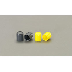 Round Shape Protection Cap 2 Pcs (Yellow) EA983FN-225Y