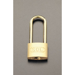 Long-Hanger Cylinder Padlock (Common Key) EA983TC-74