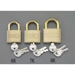 Cylinder Padlock (Common Key) EA983TC-8K