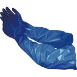 Model Gloves, No. 660 Nitrile, Model Blue (with Arm Cover)