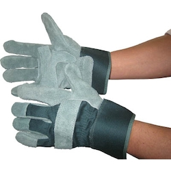 Heavy Duty Leather Gloves - Soft Coat SC-48 (Oiled Fabric)