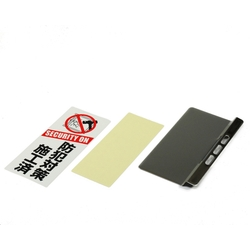 Crime Prevention Plate (Stainless Steel SUS304)