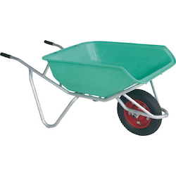 Aluminum Unicycle, with Plastic Bucket (Capacity Approx. 80 Liters)