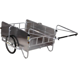 Aluminum Folding Cart, Compact, with Side Surface Aluminum Panel