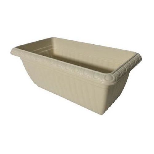 Relief planter (warm beige)