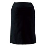 E2451 Stretch Twill, Elegant A-Line Skirt