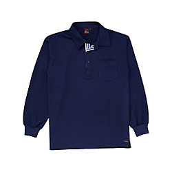 Sweat-Absorbing Quick-Drying Long-Sleeve Polo Shirt