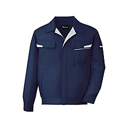 Anti-Static Stretch Long-Sleeve Blouson