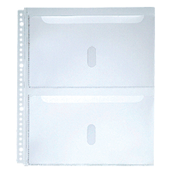 Extra Pockets for A4S File for Instruction Manuals