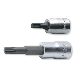 "Hand Socket 1/4"" (6.35 mm) Triple Square Bit Socket 2020-28/-50"