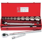 Socket wrench set (19.0 mm Insertion Angle)