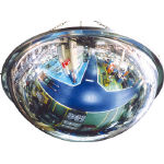 Round Acrylic Dome Mirror (Exclusively for Indoor Use, Mounting Type)