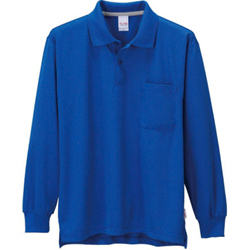 Long-Sleeved Polo Shirt with Pockets
