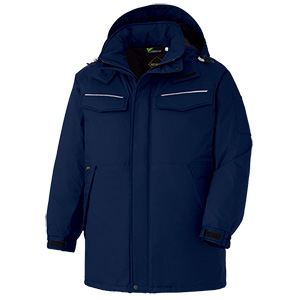 Midori Anzen Cold Protection Clothing Coat VE1087 Top Navy