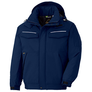 Midori Anzen Cold Protection Clothing Jacket VE1097 Top Navy