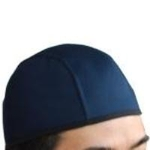 Sweat Absorbing Hat Liner Navy Blue
