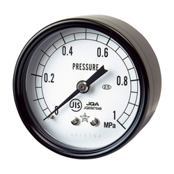 General-Purpose Pressure Gauge (Star Gauge) Without Flange, Embedded Type (DT Type) / Front Flange, Embedded Type (FDT Type)