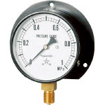 General Vibration Proof Pressure Gauge (B Type Vertical Type / ø100)