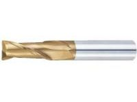 TSC series carbide square end mill, 2-flute / 2D Flute Length (short) model