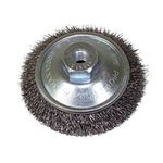 Bevel Brush (Steel Wire) for Electric