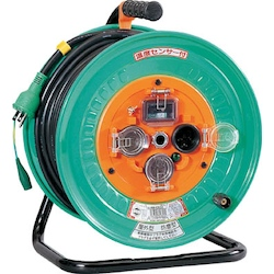 Retractable Electric Cord, Rainproof, with Breaker Electrical Wire Length (m) 30