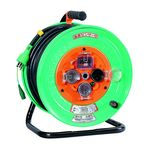 Outdoor Type Single Phase 100 V Earthing with Breaker Electric Cable Drum