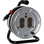 Retractable Electric Cord, Standard Type 100 V Drum, 2-Core 10 m